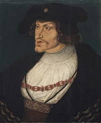 portrait of charles v by lucas cranach the younger