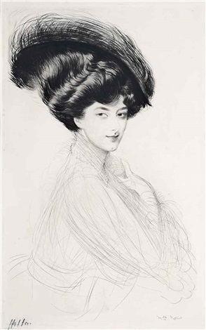 mademoiselle neris by paul césar helleu