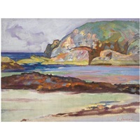 port ban, iona (+ port ban looking west; 2 works) by john duncan