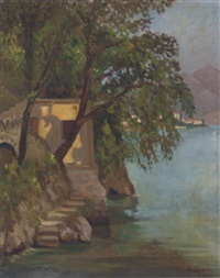 lake como by earl, field marshal (of tunis) alexander