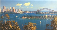 sydney harbour by simon williams