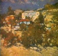 le paysage de crimée by graer arakelyan
