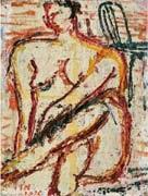 裸婦 (female nude) by toshiyuki hasegawa
