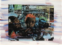 the train by romare bearden