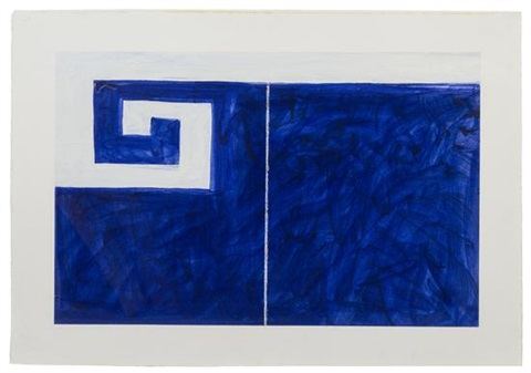 wave piece ii by mary heilmann