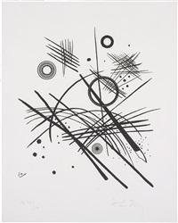 schwarze linien (black lines) by wassily kandinsky
