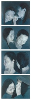 whisper series (set of 4) by chen liangjie