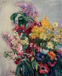 bouquet de fleurs by jean misceslas peské