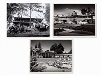 case study houses, usa (3 works) by julius shulman