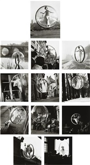 paris (12 works) by melvin sokolsky