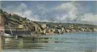paese costiero by francesco raffaello santoro