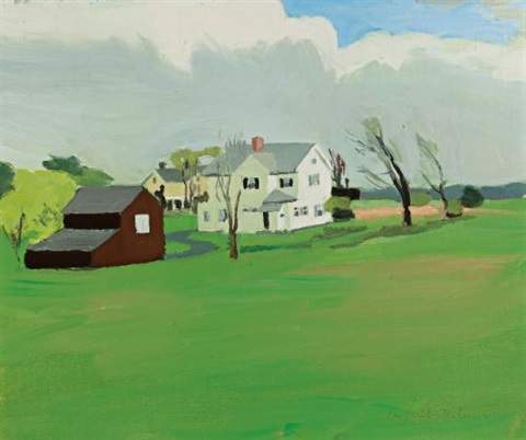 farmhouse southampton by fairfield porter