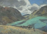 a herder in the drakensberg by charles e. peers