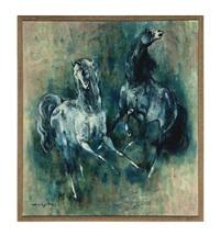 horses by denes de holesch