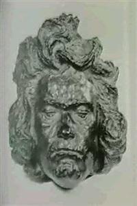 maske ludwig van beethoven (1771-1827) by carl wollek