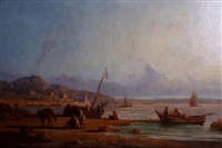 bord de la méditerranée, port de pêche by paul bistaagne