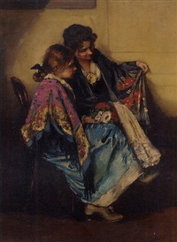comparing shawls by cesare laurenti