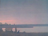 Winter Dawn on the South Platte River,..., 1999–2000