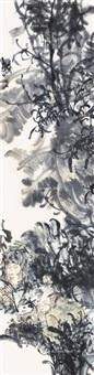 人物 软片 设色纸本 by zhang xingguo