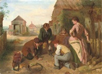 the game of marbles by william henry knight