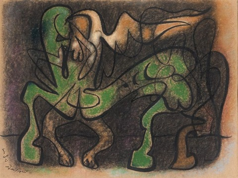 animaux centaure by andré masson