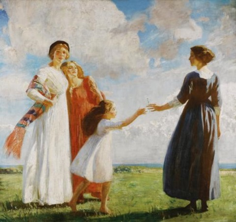 the flower by dame laura knight