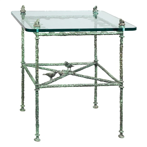 table - feuilles, modele de salle a manger aux grenoilles by diego giacometti