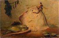 retour de pêche by jules emmanuel valadon