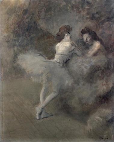 deux danseuses by jean louis forain