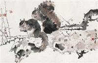 松鼠 by lin hukui