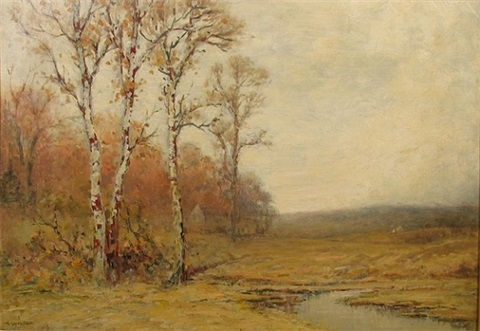 landscape with steam by edward loyal field