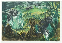 clydey, pembrokeshire by john piper