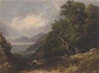 on the welsh coast, bangor by joseph william allen
