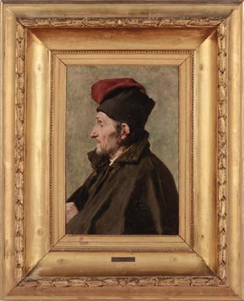 vecchio pescatore by nicolo barabino