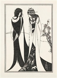 salome by oscar wilde (portfolio of 17) by aubrey vincent beardsley
