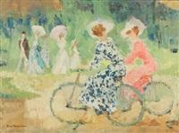 promenade à vélo by ernest kosmowski