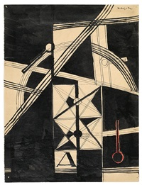 composition a (automation) by lászló moholy-nagy