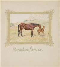 horses (4 works) by aleksiei n. komarov