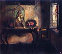 interior con silla by alfonso grosso y sánchez