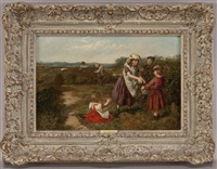 berry pickers by william hemsley