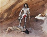 cavewoman by olaf breuning