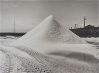 salt pile ii, hayward, california by catherine wagner