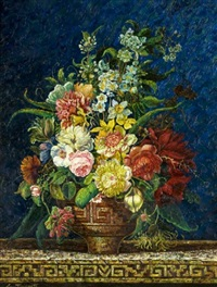 bouquet de flores by carlos pfeiffer