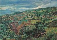 paisaje andino by manuel cabré