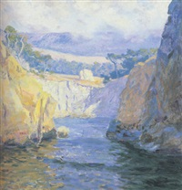 vista from point lobos by guy rose