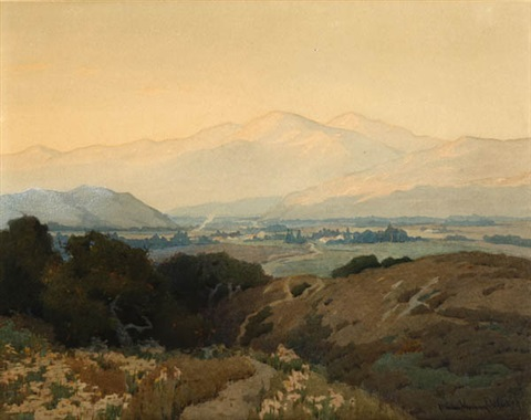 panoramic california landscape by marion kavanaugh wachtel