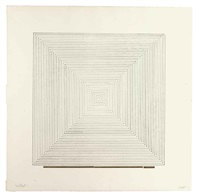 work from instructions (2 works) by sol lewitt