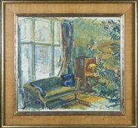 home in kilo at christmas by magnus enckell