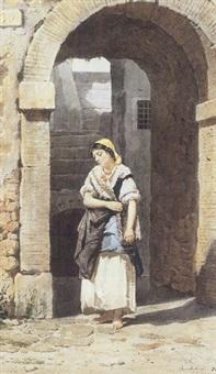 young italian maiden by federico bartolini