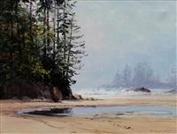 cox bay, west coast by george william bates